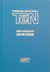 Terminarz Nauczyciela TeN na rok szkolny 2019/2020 NIEBIESKI